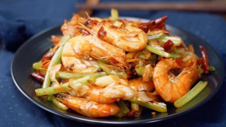 爽到爆的干锅香辣虾, 香辣可口, 超美味!