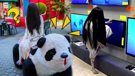 吓哭了! 在家玩贞子VR游戏简直是噩梦!