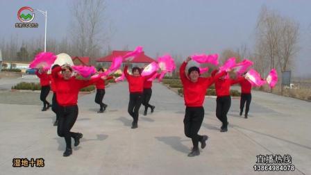 湿地十跳组合展示节目扇子舞