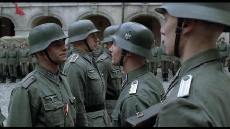 德军紧急集合, 授勋后就上前线, 一部反映二战德国的战争片