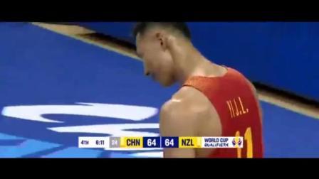 又是易建联强突内线造杀伤, 中国男篮VS新西兰!