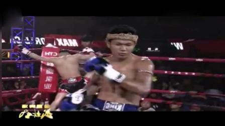 泰拳王目中无人开场就疯狂挑衅遭中国小伙逆天重拳KO打破不败神话