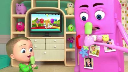 英语早教启蒙动画 教宝宝学儿歌童谣