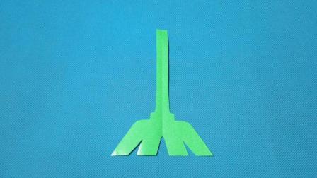 剪纸小课堂: 扫帚, 儿童喜欢的手工DIY, 动手又动脑