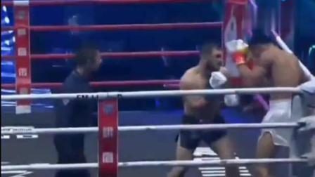 他在中国连续KO六人! 被重创也能反杀!