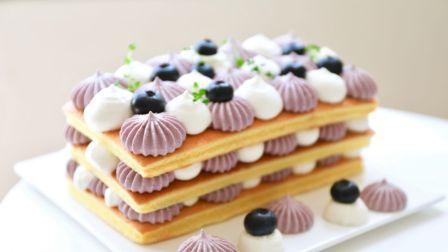 Freesiaa Made 2018 蓝莓酸奶 奶油裸蛋糕