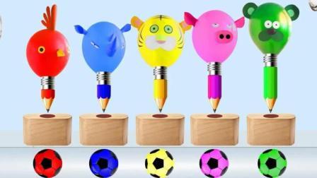 色彩铅笔动物英语色彩英语儿童英语少儿英语ABC
