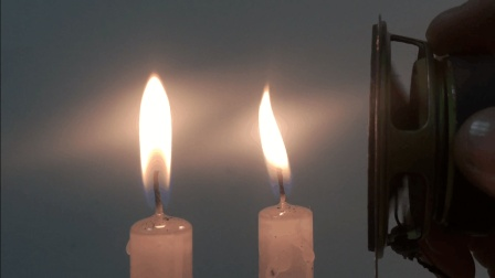 【初中物理屋】声波传递能量: 烛光舞