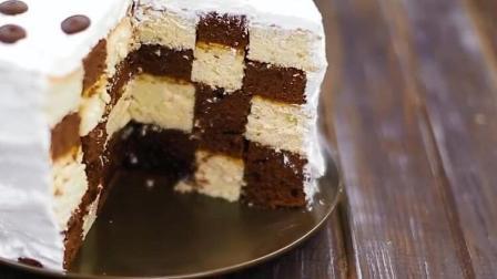 好看又好吃的蛋糕, 做法很简单