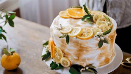 小清新柠檬夹心蛋糕制作