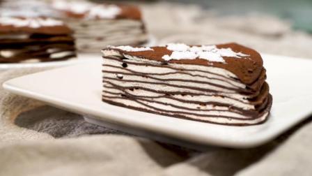 免烤箱制作, 手作千层提拉米苏蛋糕