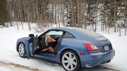俄罗斯女孩真会玩, 车玻璃好像出卖了她