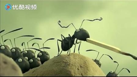 《昆虫总动员》外敌入侵兵临城下,黑蚂蚁保家卫国城墙殊抵抗!