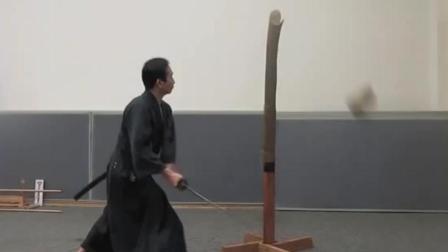 """堪称日本真正""""快刀手"""", 刀法犀利, 这是训练5年的成果"""