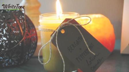 DIY按摩精油香薰蜡烛