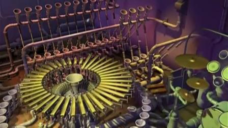 超大的弹球击打的乐器, 很神奇, 声音很美妙, 哪位知道叫什么乐器