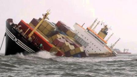 50吨巨轮超载导致上亿货物全打水漂, 老司机们可得长点记性!