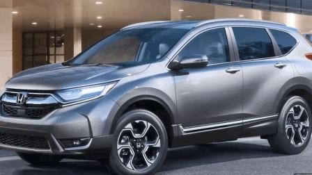 2018本田CR-V首款七座SUV, 起售价17万起, 混合动力外观霸气