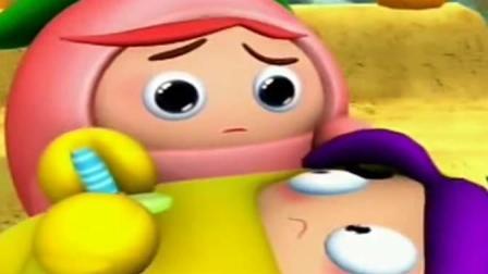 果宝特攻: 菠萝自杀, 小蜜桃伤心不已