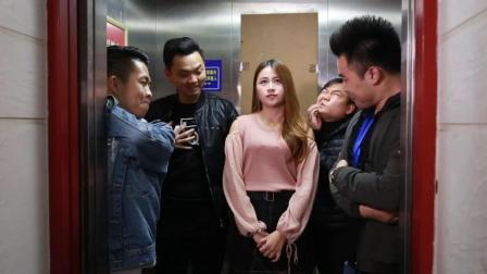 闽南语搞笑视频: 看美女就看美女, 大哥能不能别