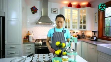 家庭生日蛋糕简单做法 八寸戚风蛋糕的做法 蛋糕的培训