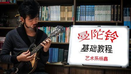【入门自学】曼陀铃教程 视频教学 第一讲<上> By__艺术系杨鑫