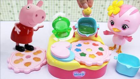 小猪佩奇水果布丁制作机玩具