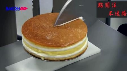 这是一台做奶油蛋糕的机器, 连裱花都不用人工, 太方便了