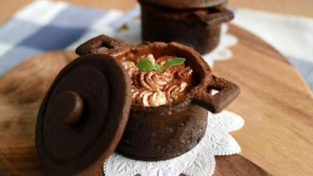 【小豆包美食】没买到章丘大铁锅, 妹子就用巧克力做个小铁锅! 太有创意了!