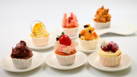 甜品——杯子蛋糕的做法, 软香甜糯超简单!