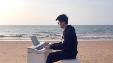 海阔天空钢琴 钢琴曲 写轮指即兴演奏