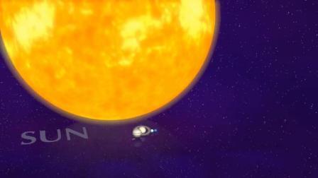 8大行星加起来竟连太阳冰山一角都算不上! 但太阳相比太阳系呢