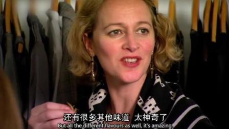 在中国羊肉串面前, 英国人一点尊严都没有了, 来自东方的魔法!