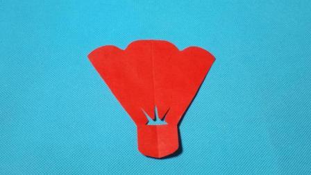 剪纸小课堂: 羽毛球, 儿童喜欢的手工DIY, 动手又动脑