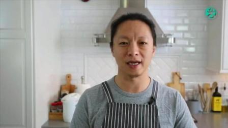 西点面包烘焙 白吐司面包的做法 面包制作视频