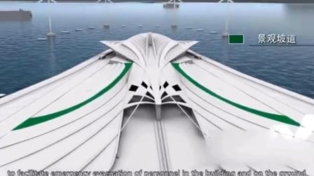 中国正在建设又一海上超级工程, 工程预计2024年完工!