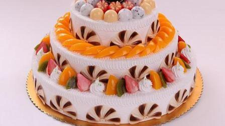 4分半钟, 从蛋糕胚到三层水果蛋糕, 10年经验蛋糕师傅亲身教学