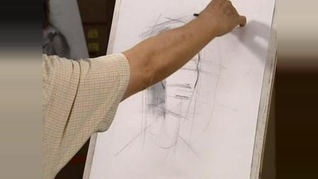 素描视频教学基础素描入门教程视频, 孔雀国画教程, 卡通素描入门图片人物素描教程