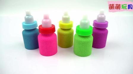 创意亲子玩具: 牛奶瓶变身彩虹奶瓶? 色彩认知培养宝宝创意思维!