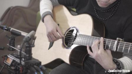 GIN 经典吉他曲《愿樱》节选, cover by 吉明琰, 愿望的樱花, 願い桜