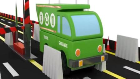 汽车总动员 变形警车 公共汽车 汽车玩具游戏.mp4