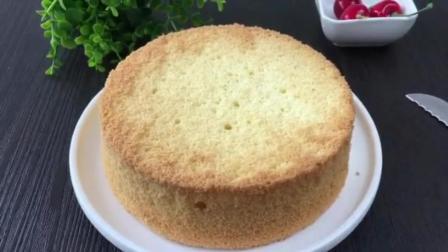 家里自制生日蛋糕做法 烘焙饼干 自制生日蛋糕的做法