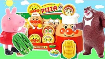 小猪佩奇猪猪侠面包超人熊出没日本食玩过家家 健达奇趣蛋超级飞侠拆猪猪侠奇趣蛋喜羊羊