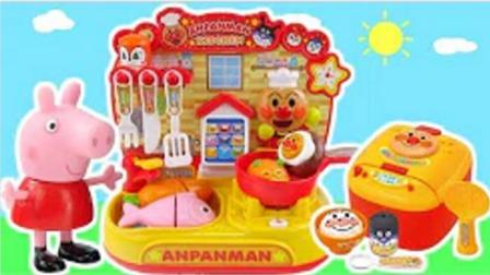 面包超人日本自动售货机玩具  培乐多厨房玩具过家家, 面包超人冰淇淋超市商店,