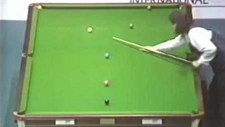 1987年吉米怀特在香港的比赛, 颠覆了人们对斯诺克的认知!