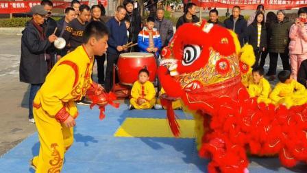 年味回顾: 湖南平江农村春节舞狮, 村民自发组织, 你们村有吗?