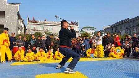 年味记录: 湖南平江农村传统舞狮民俗之——十八般武艺(下)