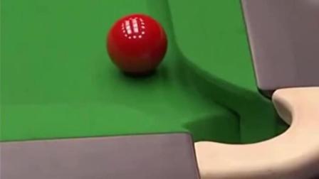 这是斯诺克最为神奇的一球, 解说都称百年难遇
