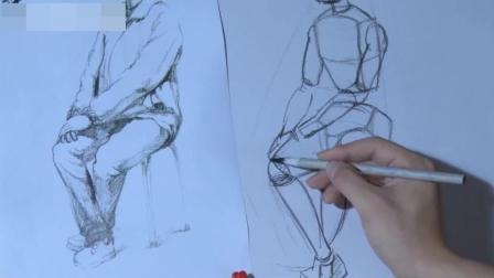 速写人物速写入门五官眼睛画法, 仙鹤国画教程, 北京素描入门培训班素描画图片