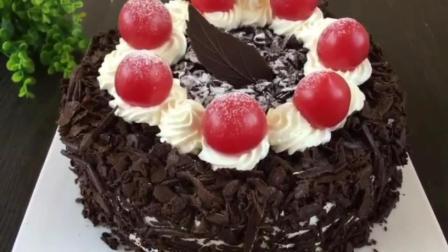 学烘培大概需要多长时间 世界烘焙配方 怎样做巧克力蛋糕